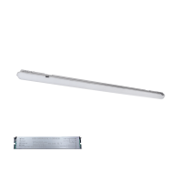 CORPO ILLUMINANTE BELLA LED 55W(1500MM) 4000K-4300K IP65 CON BLOCCO DI EMERGENZA